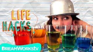 getlinkyoutube.com-Crazy Cup Hacks | LIFE HACKS FOR KIDS