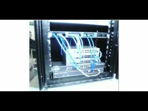 Videotutorial para montar una red con diez computadores. y montar el programa ciber cafe