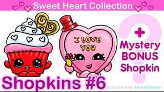 getlinkyoutube.com-How to Draw Shopkins Valentines Special from Sweet Heart Collection step by step