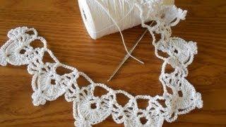 getlinkyoutube.com-Orilla medias lunas tejido crochet