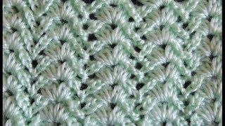 getlinkyoutube.com-Crochet : Punto Fantasia # 8
