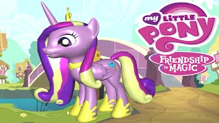 getlinkyoutube.com-My Little Pony Friendship is Magic Princess Cadance 3D Pony Creator Creative Game for Children