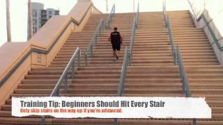 getlinkyoutube.com-HIIT Cardio Workouts - High Intensity Stair Sprints & Jump Rope