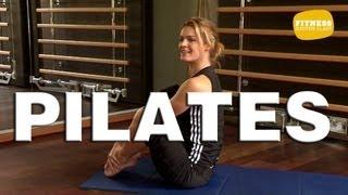 getlinkyoutube.com-Fitness Master Class - Pilates - Exercices de Pilates pour débutant