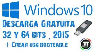 getlinkyoutube.com-Como Descargar Windows 10 Original Gratis | x32 y x64 bits | + Crear USB booteable para Instalarlo