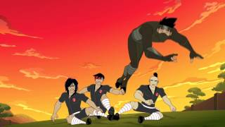 "getlinkyoutube.com-Supa Strikas - # 1 show on Disney XD in S.Africa!! ""Cheese Lies and Videotape"""