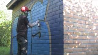 getlinkyoutube.com-Finland graffiti bombing 2012