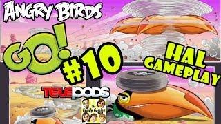 getlinkyoutube.com-Let's Play Angry Birds Go: Pt. 10 - HAL - ehluja Stunt Gameplay - Boomerang Bird (iOS Commentary)
