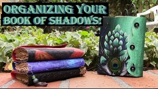 How To Organize Your Book Of Shadows | Scalebound by Azura DragonFeather
