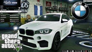 getlinkyoutube.com-BMW X6M F16 GTA V car mod tuning !! [ Soley911 ]