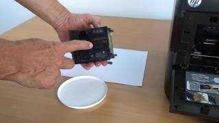 getlinkyoutube.com-Tinten-Druckkopf reinigen am Beispiel HP Officejet Pro 8600 / E / Plus