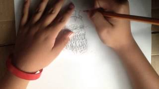 getlinkyoutube.com-Dibujando Con Fer.    Como dibujar a nightmare fredbear