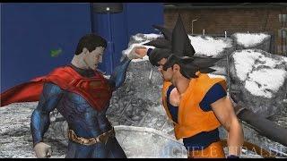getlinkyoutube.com-goku vs superman - the movie - episode 1