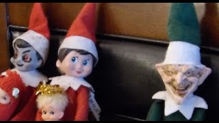 getlinkyoutube.com-Bad Elf on the Shelf: Elfenezer Scrooge!