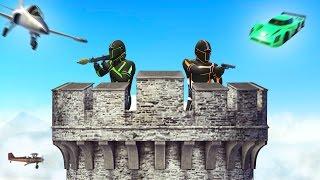 getlinkyoutube.com-TOWER DEFENSE GTA CHALLENGE! (GTA 5 Funny Moments)