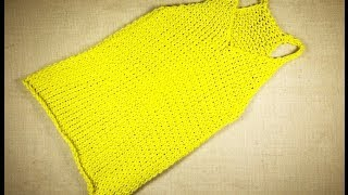 getlinkyoutube.com-How to Loom Knit a Tank Top (DIY Tutorial)