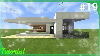 getlinkyoutube.com-Como hacer una casa moderna de cuarzo (13x16) Minecraft PE