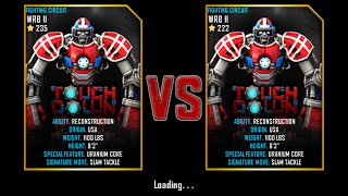 getlinkyoutube.com-Real Steel WRB Championship Touch Down VS Touch Down NEW UPDATE