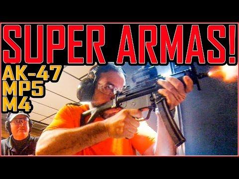 Armas Especiais - AK-47, MP5 , M4 , Glock17