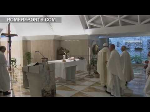 Pope  Pray for priests and bishops  so we can be good shepherds and not wolves
