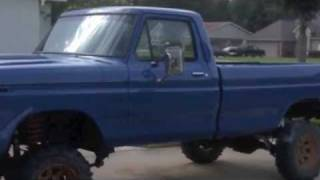 """getlinkyoutube.com-""""Me And My Truck"""" Lifted Ford Pickups"""