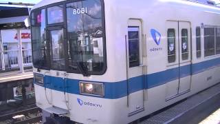 getlinkyoutube.com-小田急8000形8061F急行新宿行き 東海大学前発車