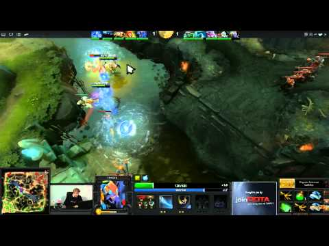 Dota 2 - ESWC Grand Final - Na'Vi vs EHOME - Game 1
