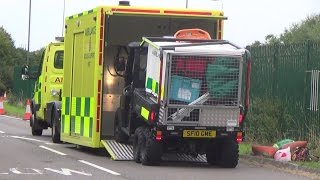 getlinkyoutube.com-WMAS - HART - ATV & Pod - Polaris & Iveco Daily - Leaving Helimed 06's Strensham base