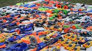 getlinkyoutube.com-157 Gun Nerf Arsenal—An Ocean of Nerf!