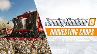 Farming Simulator 19 - Harvesting Crops Gameplay Trailer