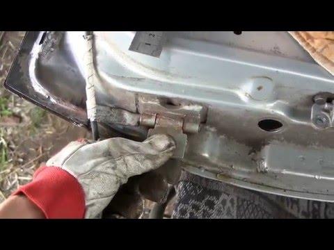 Восстанавливаем дверные петли, если дверь провисла ремонтируем петли