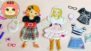 getlinkyoutube.com-魔法つかいプリキュア♥ソフィアとアンバーが学校スタイル&おでかけスタイルにお着替え! Kids Anime Toy Sofia the First