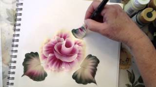 getlinkyoutube.com-One Stroke Painting: How To Use the Angle Brush.m4v