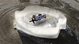 EPIC 100% ICE BEYBLADE STADIUM! - Complete Frozen Ice Mold