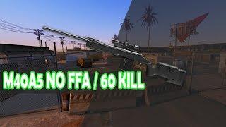 Warface - 60 kills NO FFA DE SNIPER FULL GP, OMG!!!