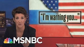 Russia Seeks Parity With US On Cyber-Power | Rachel Maddow | MSNBC