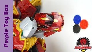 getlinkyoutube.com-터닝메카드W 극장판 디스크캐논 장난감 Turning Mecard W Disc Canon Transformers