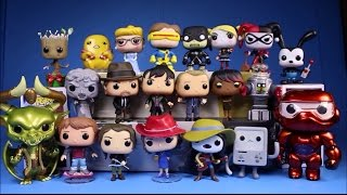 getlinkyoutube.com-Funko Pop Collection 2015 21 Figure Unboxing Adventure Time Gotham Season 2 Hunger Games Groot