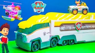 getlinkyoutube.com-PAW PATROL Nickelodeon Jungle Patroller New Paw Patrol Toys Video
