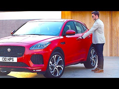 Jaguar E Pace INTERIOR Review 10 Best Options Jaguar SUV New CARJAM TV HD
