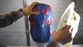 getlinkyoutube.com-How To Make A Silicone Mold Of A Helmet Pt 3
