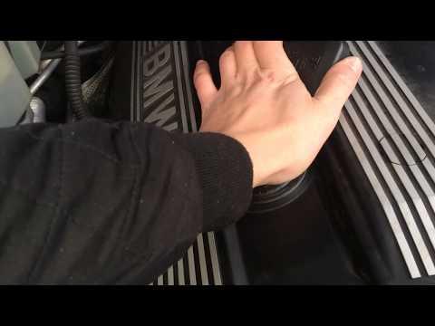 BMW X5 E53 m54 давит масло из под крышки гбц