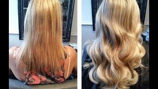 getlinkyoutube.com-Tutorial Hair extensions Easiest Way