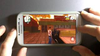 getlinkyoutube.com-Grand Theft Auto San Andreas Samsung Galaxy S4 Android 5.0.1 Lollipop Gameplay