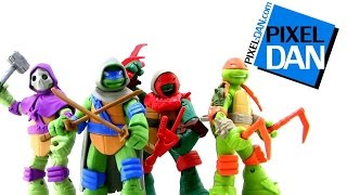 getlinkyoutube.com-Nickelodeon Teenage Mutant Ninja Turtles Mystic Turtles Figures Video Review