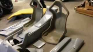 getlinkyoutube.com-Lamborghini Replica Kit Car Interior | Murcielago LP640 + Aventador = Reventon