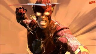 Injustice Gods Among Us The Flash Ladder playthrough with final boss fight and ending