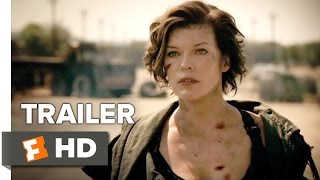 getlinkyoutube.com-Resident Evil: The Final Chapter Official Trailer 1 (2017) - Milla Jovovich Movie