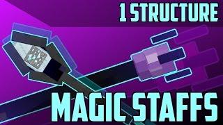 getlinkyoutube.com-Magic Staffs in Minecraft - 1.11 Command Block Creation