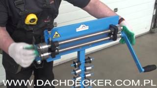 getlinkyoutube.com-ŻŁOBIARKA ROWKARKA SICKENMASCHINE SWAGING MACHINE Masini de faltuit Ручной зиговочный станок